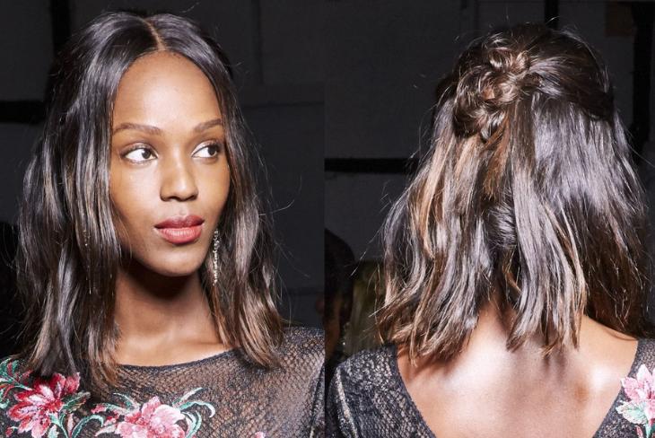 01 kiểu tóc đẹp sản runway fall 2019