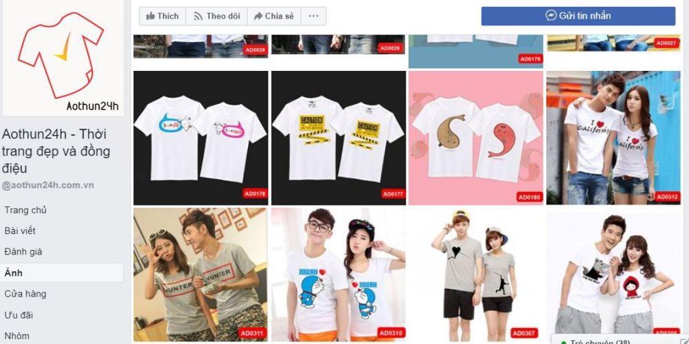 Các Shop Quần áo Trên Facebook ở Hà Nội