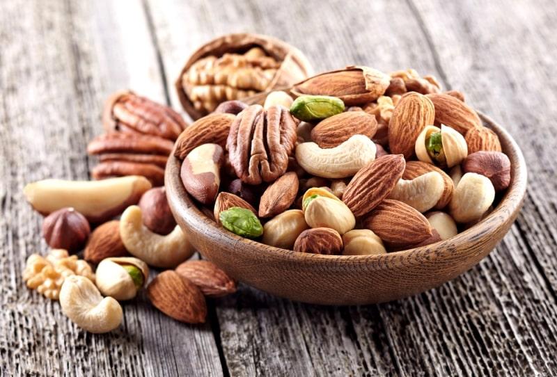 Các loại hạt không gây ngán và hỗ trợ chức năng gan tốt