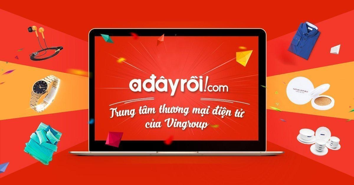 Mua hàng tiện lợi và uy tín trên Adayroi.com