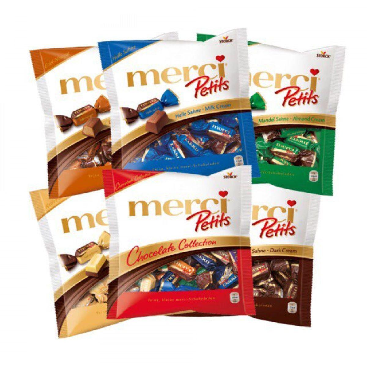 Kẹo sô cô la Merci Petits nhiều chọn lựa hương vị đa dạng trong dịp Tết