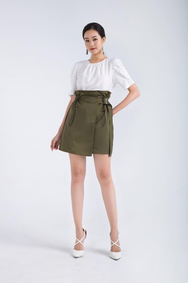 áo sơ mi nữ cách điệu 2018