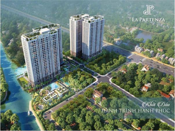 La Partenza do Công ty Cổ phần Bất động sản Khải Minh Land làm chủ đầu tư