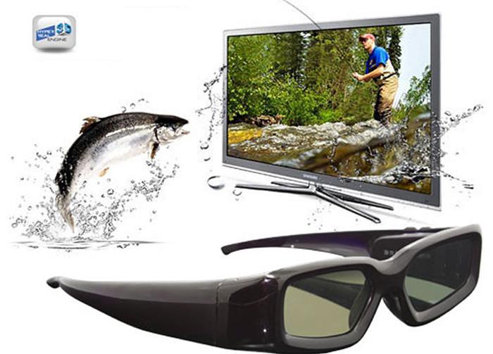 Công nghệ 3D thụ động sử dụng kính có màn trập tinh thể lỏng.