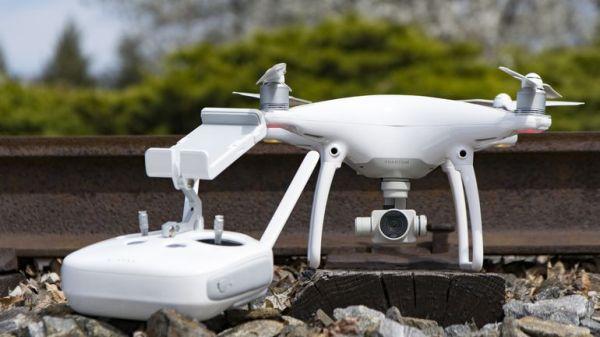 flycam DJI Phantom 4
