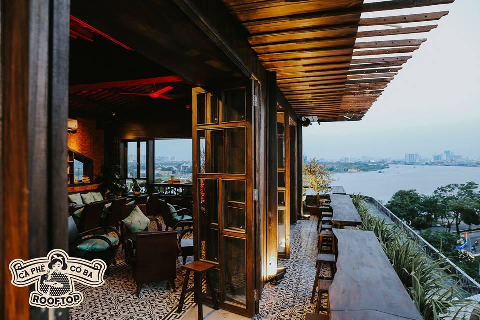 Cà phê Cô Ba Sài Gòn Rooftop