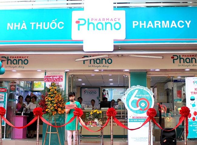 Phano Pharmacy là Top 5 Hệ thống nhà thuốc lớn nhất tại Việt Nam