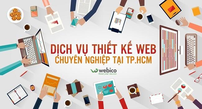 dịch vụ thiết kế web của công ty Webico