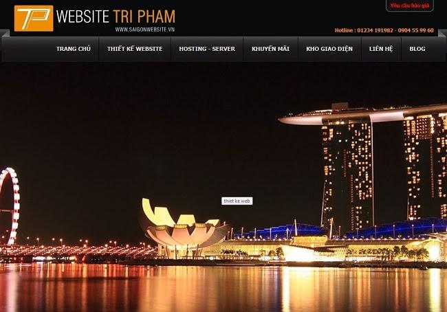 saigonwebsite.vn công Ty dịch vụ TNHH MTV Website Trí Phạm