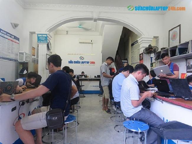 Sửa chữa Laptop trung tâm sửa chữa laptop 24h.com