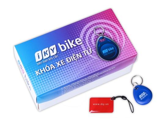 Khóa chống trộm xe máy thẻ từ