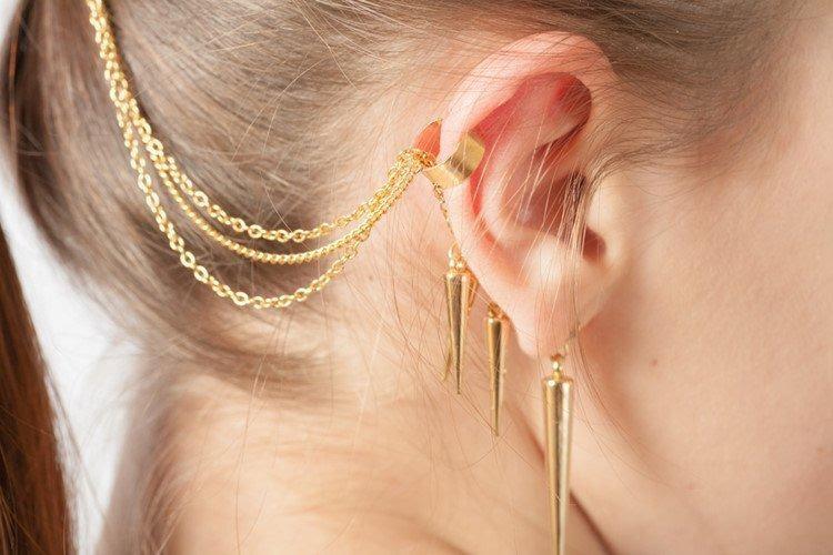 Khuyên tai mang nhiều ý nghĩa trong cuộc sống