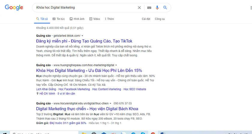 Cac Loai Quang Cao Google Google Search