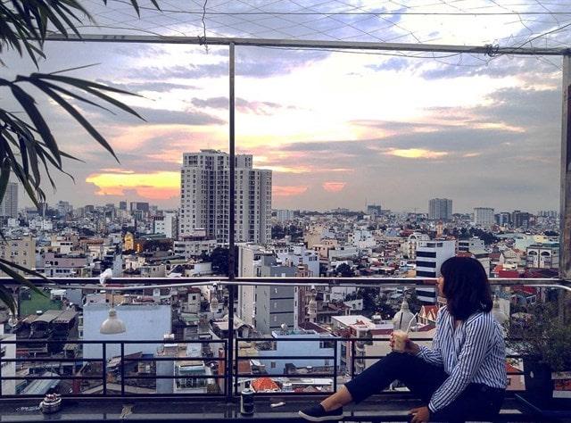 Cafe Nóc Nhà Sài Gòn