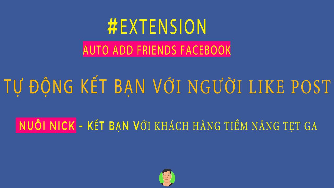 Tool Auto Add Friend - Phần Mềm Kết Bạn Facebook Hàng Loạt - TAIDV