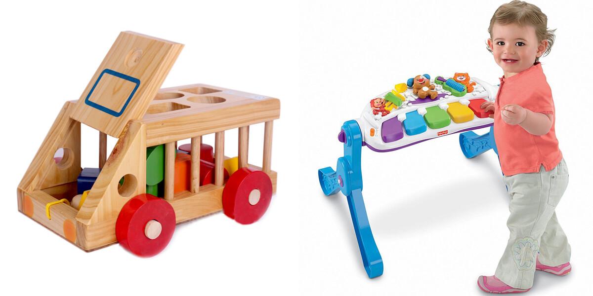 TOP 10 bộ đồ chơi cho bé 1 tuổi giúp trẻ phát triển trí thông minh