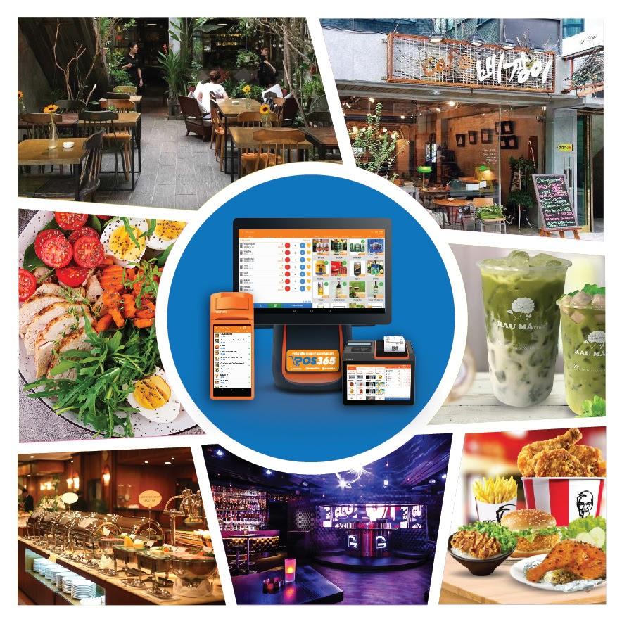 Phần mềm quản lý bán hàng nhà hàng POS365
