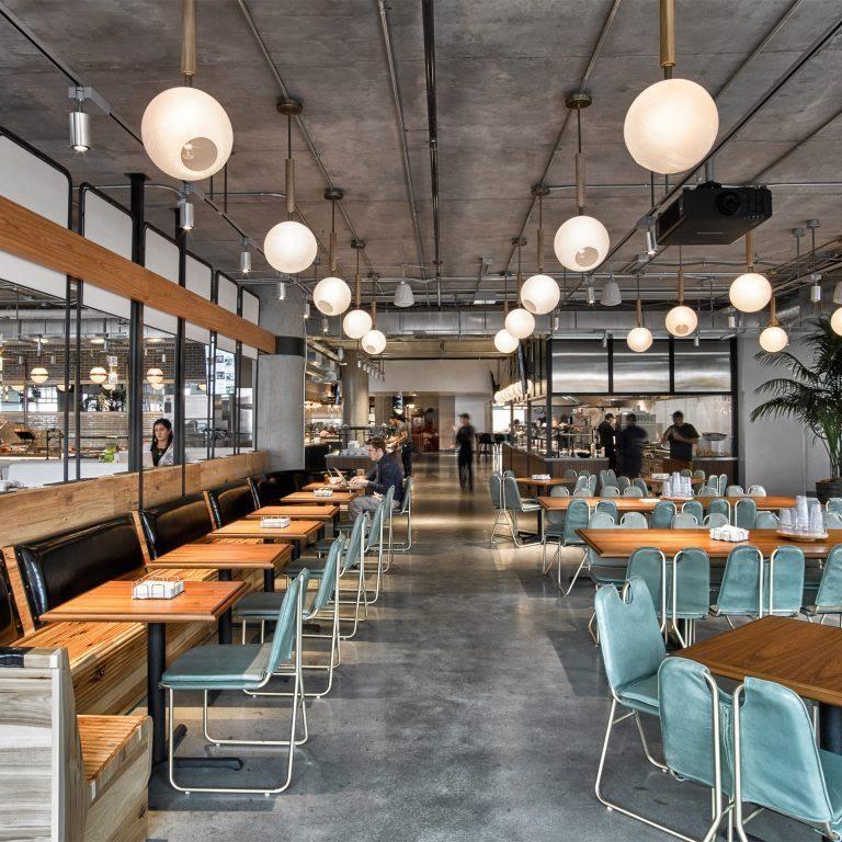 Chiếu sáng trong nhà cho quán cafe