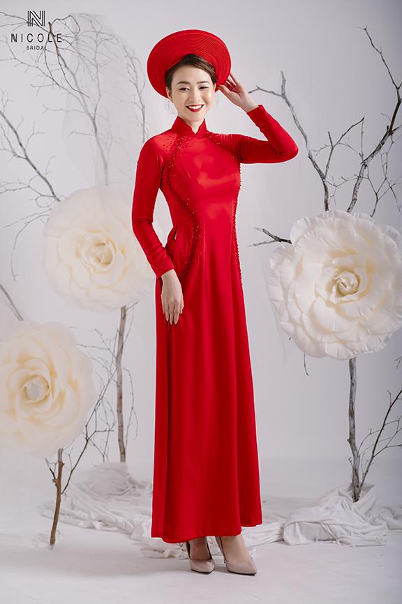Nhu cầu thuê, may áo dài cưới cách tân hiện nay