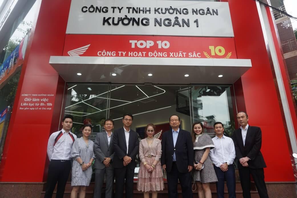 Honda Kường Ngân vinh dự đón Tổng Giám Đốc Honda Việt Nam và phái đoàn cấp  cao từ Nhật Bản đến thăm - Kường Ngân - Mua bán xe máy Honda, Yamaha, SYM