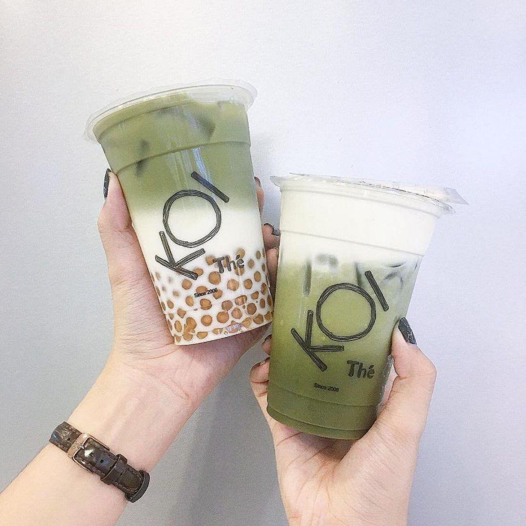 Trà Sữa KOI | Bubble milk tea, Bubble tea, Milk tea