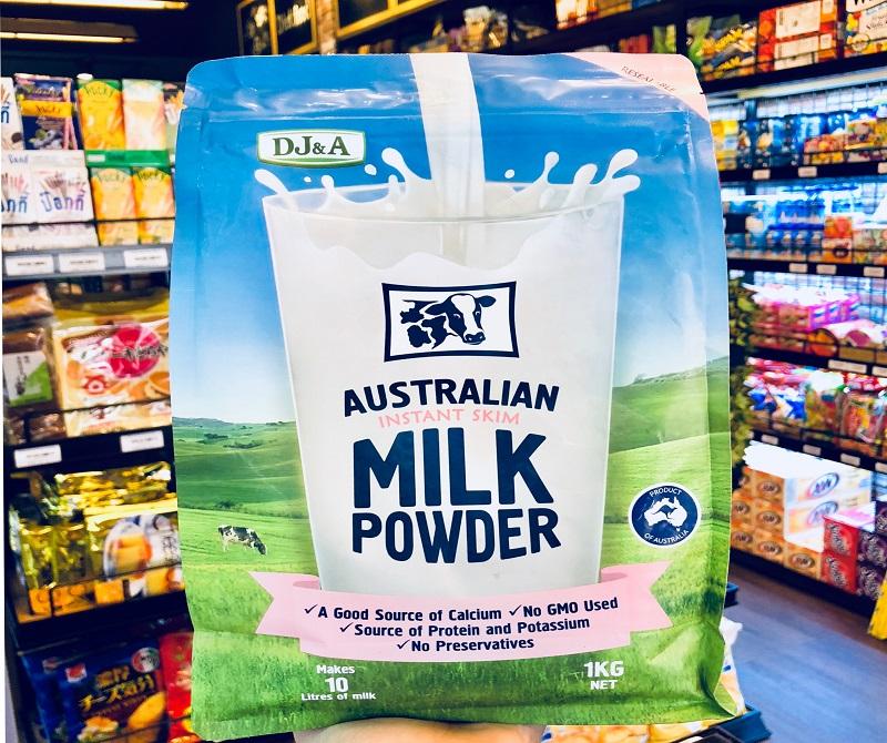 Sữa DJ&A giúp tăng cân