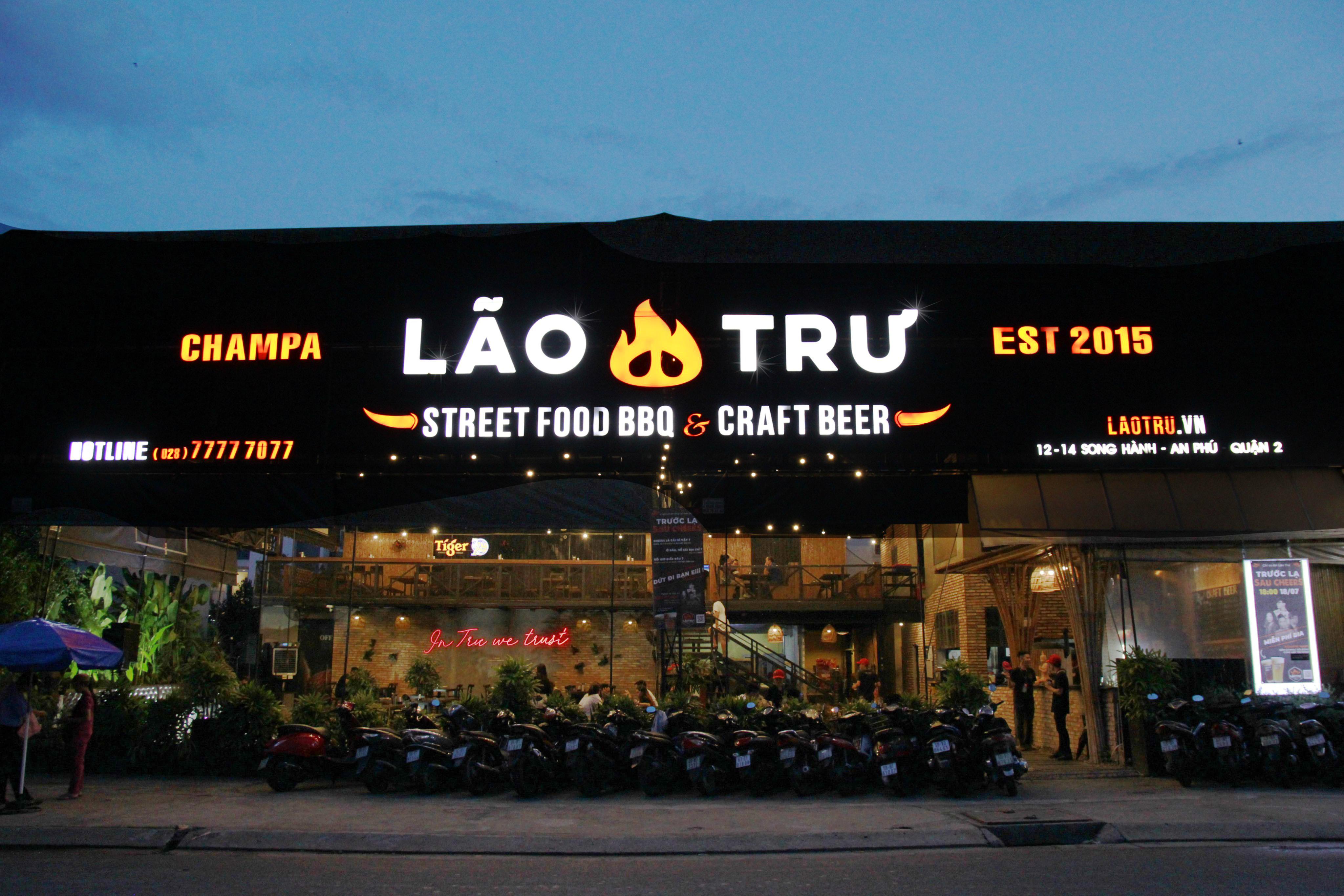 Lão trư – Street Food BBQ & Beer