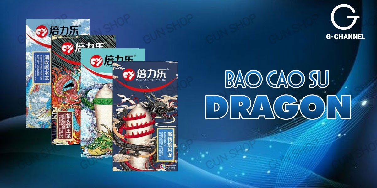 Bao cao su gai Dragon siêu kích thích