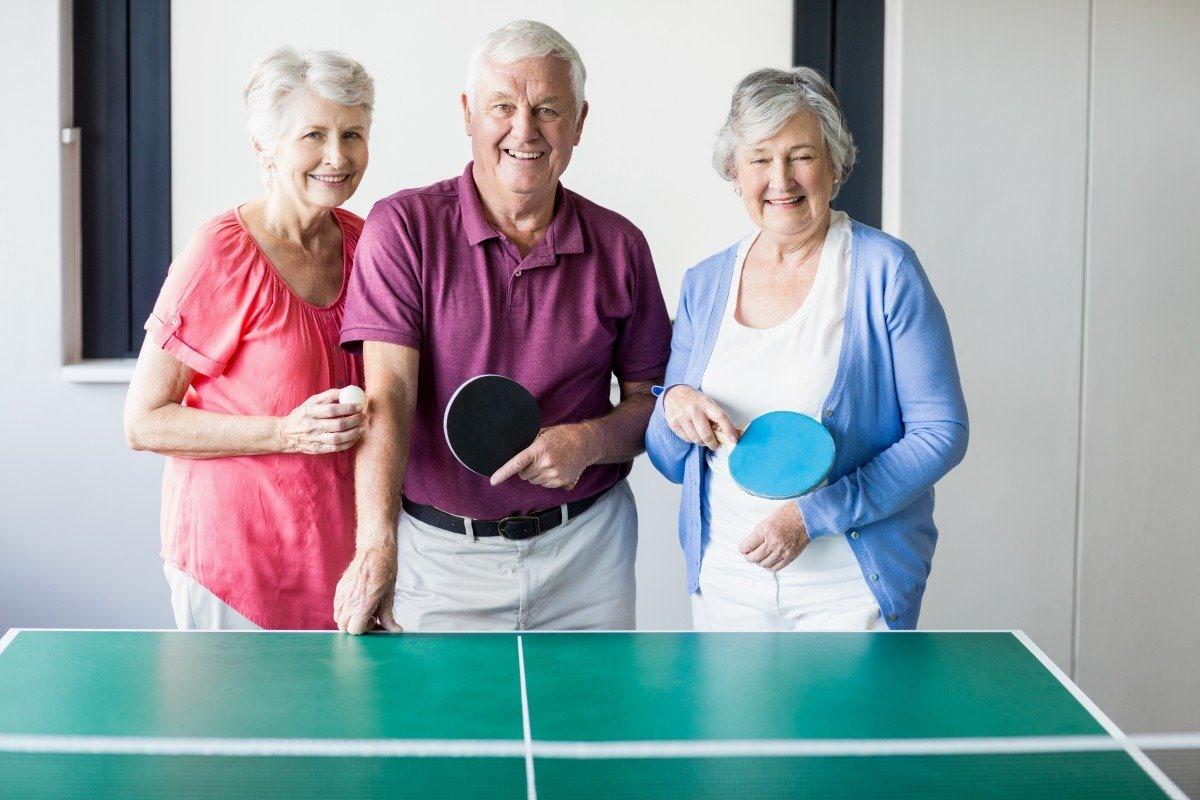 Chơi bóng bàn tốt cho người già, làm chậm sự tiến triển của bệnh Parkinson    Tin tức mới nhất 24h - Đọc Báo Lao Động online - Laodong.vn