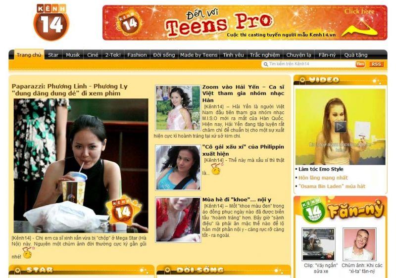 Website Thông Tin Giải Trí