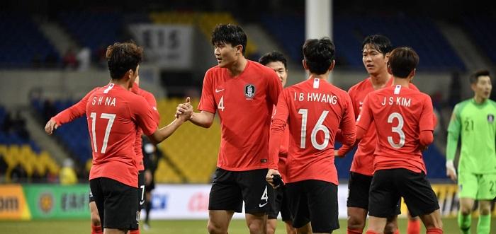 Top 10 đội tuyển bóng đá mạnh nhất châu Á năm 2021 - Hàn Quốc
