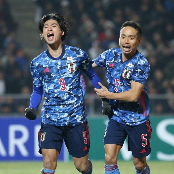 Top 10 đội tuyển bóng đá mạnh nhất châu Á năm 2021 - Nhật Bản