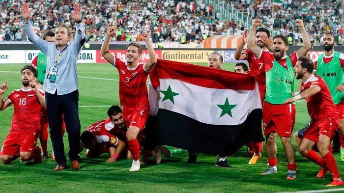 Top 10 đội tuyển bóng đá mạnh nhất châu Á năm 2021 - Syria